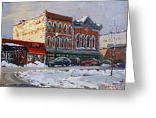 Holiday Shopping In Tonawanda Greeting Card