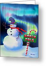 Holiday Top Hat Greeting Card