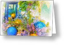 Holiday Vignette 2 Greeting Card