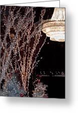 Holiday Wonderland Of Lights 2 Greeting Card