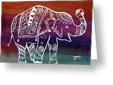 Holi's First Dance Greeting Card
