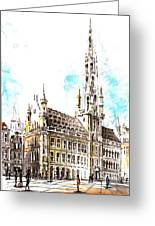 Holland Beautiful Town Greeting Card