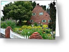 Holland English Garden Greeting Card