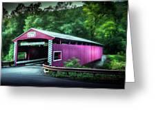 Hollingshead Coverd Bridge Greeting Card