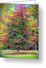 Holly Jolly Tree Greeting Card