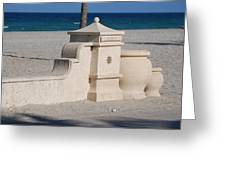 Hollywood Beach Greeting Card