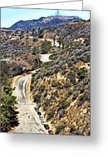 Hollywood Sign / Hollywood Hills Greeting Card
