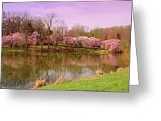 Holmdel Park In Spring Greeting Card