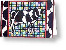 Holstein 3 Greeting Card