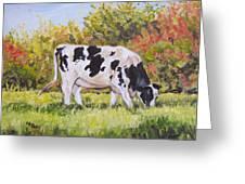 Holstein Greeting Card