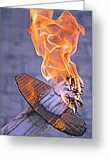 Holy Fire Greeting Card