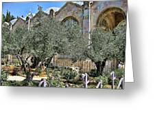 Holy Gardens Greeting Card