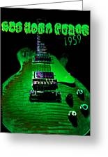 Holy Grail 1959 Retro Relic Guitar Greeting Card