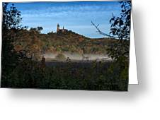 Holy Hill In Fall Greeting Card