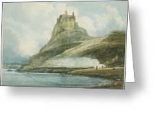 Holy Island Greeting Card