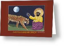 Holy Sadhu Sundar Singh 189 Greeting Card
