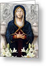 Holy Woman Greeting Card