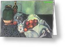 Homage To Cezanne Greeting Card
