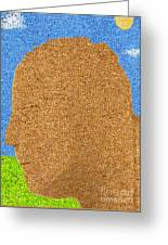 Homage To Seurat In Carpet Greeting Card by Andy  Mercer