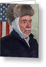 Homage To Van Gogh Two Greeting Card