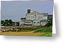 Home By The Shore Greeting Card