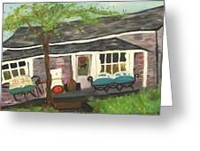 Home In Feeding Hills Mass Part 1 Greeting Card