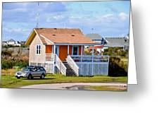 Home In Nags Head 3 Greeting Card