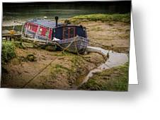 Home Is On The Mud Greeting Card