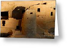 Home Of The Anasazi Greeting Card