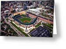 Home Of The Orioles - Camden Yards Greeting Card