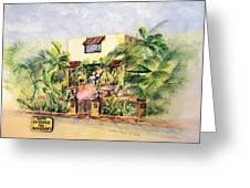 Home On Belmont Shore Greeting Card