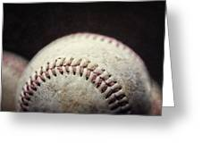 Home Run Ball Greeting Card by Lisa Russo