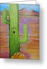 Home Sweet Cactus Greeting Card