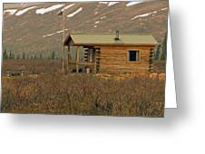Home Sweet Fishing Home In Alaska Greeting Card