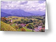 Home Town Mountains Greeting Card