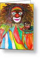 Homeboy The Clown Greeting Card