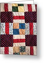 Homemade Quilt Greeting Card