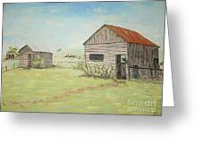 Homeplace - The Smokehouse And Woodhouse Greeting Card