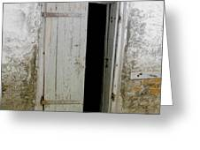 Homeplace Doorway Greeting Card