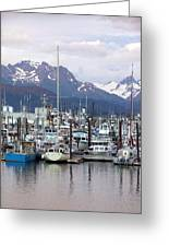 Homer Harbor Greeting Card