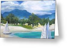 Homesick For Hawaii Greeting Card