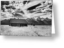 Homestead Mormon Row Greeting Card