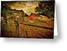 Homestead Palouse Greeting Card