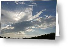 Homestead Sky Greeting Card