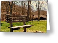Hometown Series - Have A Seat Greeting Card