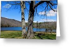 Hometown Series -sherando Lake Greeting Card