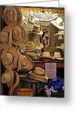 Hondo's Cowboy Hats - Luckenback Greeting Card