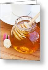 Honey Jar Greeting Card