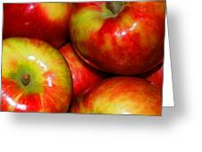 Honeycrisp Apples Greeting Card