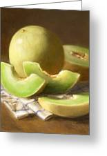 Honeydew Melons Greeting Card by Robert Papp